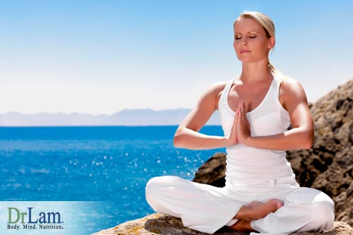 Meditation and other stress relieving exercises on health