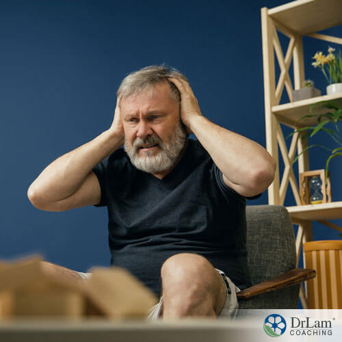 An older man suffering from his declining memory