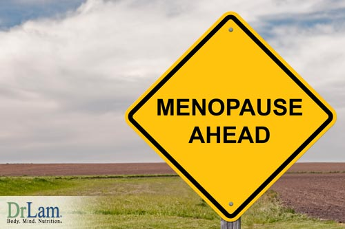 Shrink fibroids in menopause