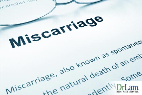 Miscarriages and reproductive system function
