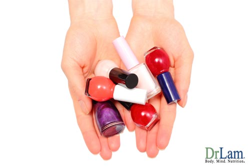 A body with multiple chemical sensitivities may not be able to use fingernail polish.