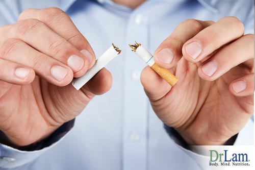 Autoimmune disease supplements and quitting smoking