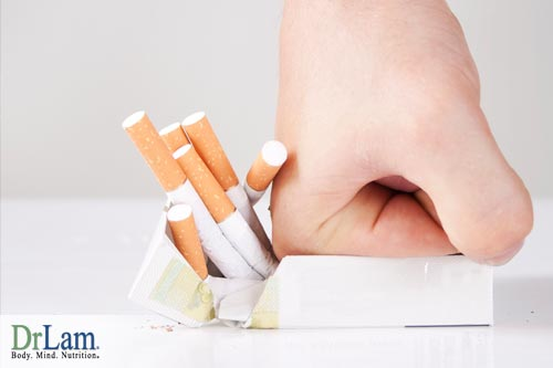 Eliminating smoking can help with detoxing the body.