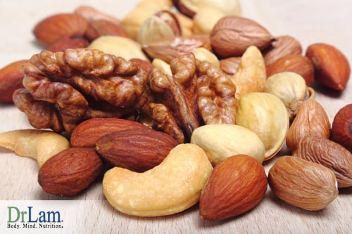 Nuts and blood sugar are connected