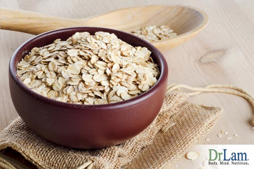 Oats are a source of elemental calcium