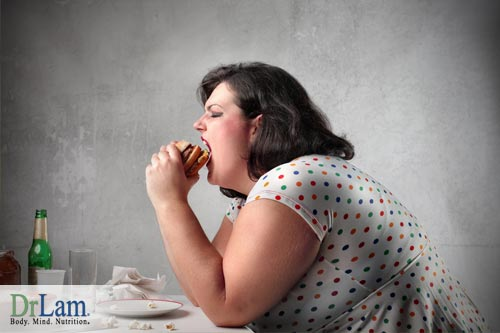 Obesity and fatigue from a poor diet