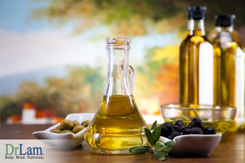 The smoke point of cooking oils and olive oil