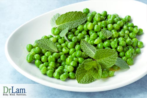 Orange and Mint Peas