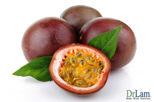Passion Fruit, from the same plant as Passion Flower Extract