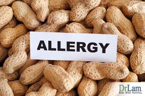 Hypersensitivity symptoms can be brought on by peanuts