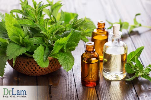 A congested chestcan benefit from peppermint oil