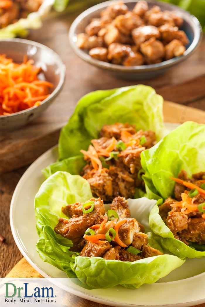 Lettuce Chicken Cups with Anti-inflammatory Spices