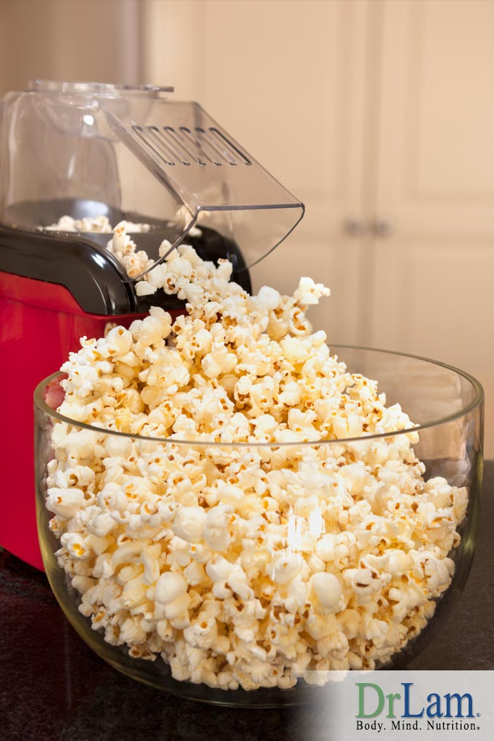 Popcorn Power: A Low Calorie Snack for Adrenal Fatigue