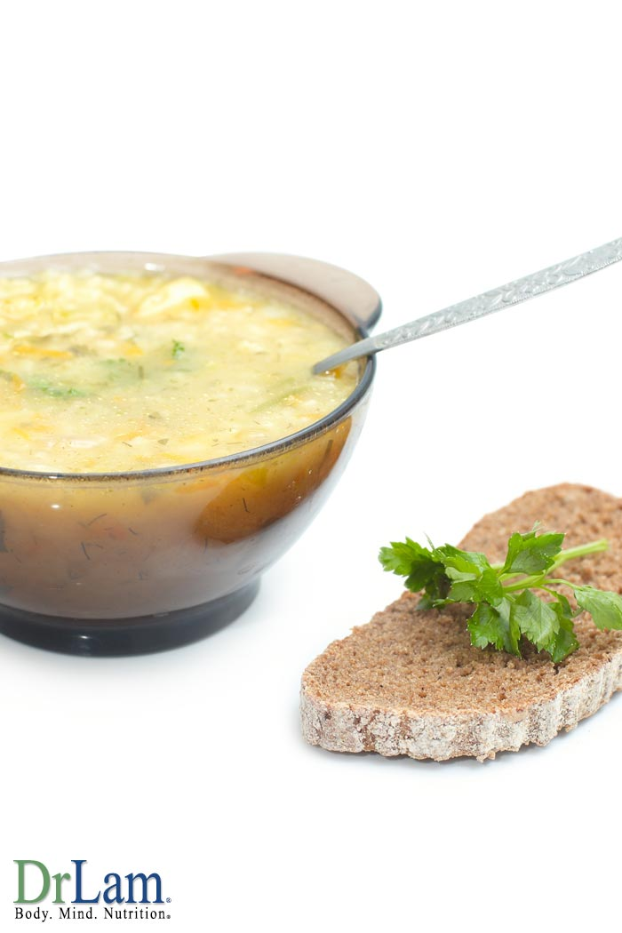 Rice and Celery Soup