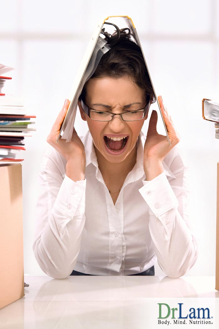 How Sources of Work Stress Effect Your Adrenals