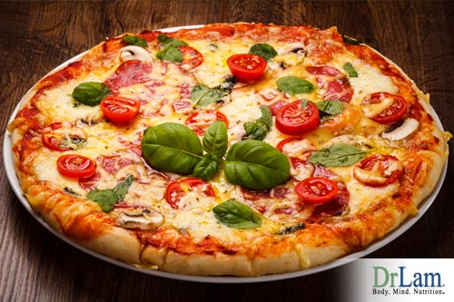 Pizza is high in Fat and Carbohydrates: Uncovering the big fat lie