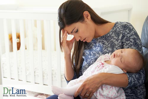 Post Partum Fatigue and reproductive system function