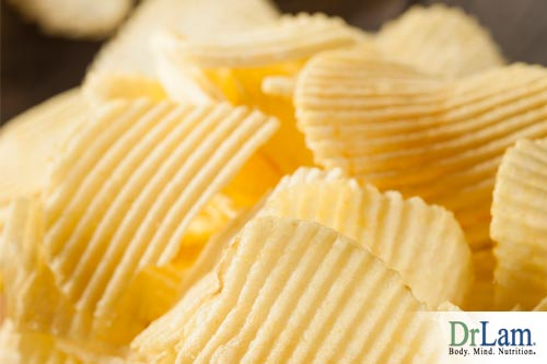 When the body experiences a craving for salt, it makes us seek out salty foods such as potato chips, driving up their desirability