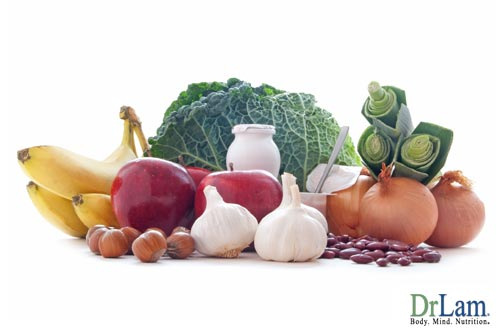 Keeping the gut healthy by avoiding bad foods, eating good foods and maintaining gut flora with prebiotics and probiotics heads off chronic inflammation.