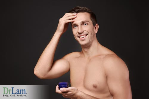 Improving health with progesterone in Men