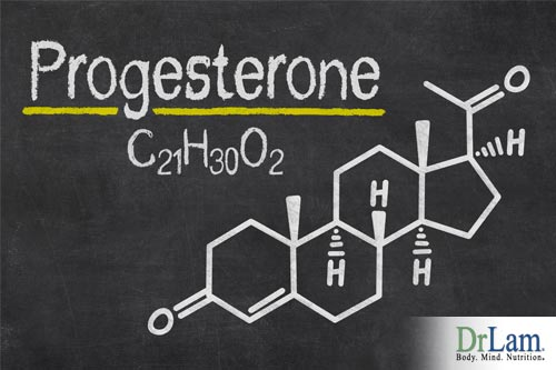Estrogen dominance symptoms and Progesterone