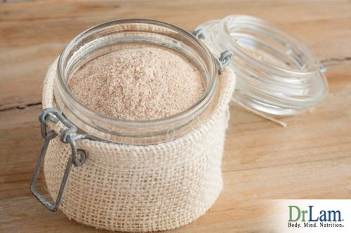 polluted environment and Psyllium husk