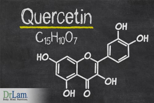 Quercetin benefits due to its role as a flavonoid