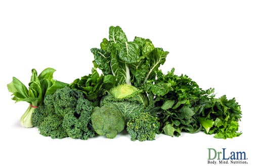 Green leafy vegetables are important for autoimmune disease supplements