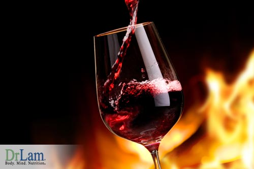 Avoid wine to prevent gout