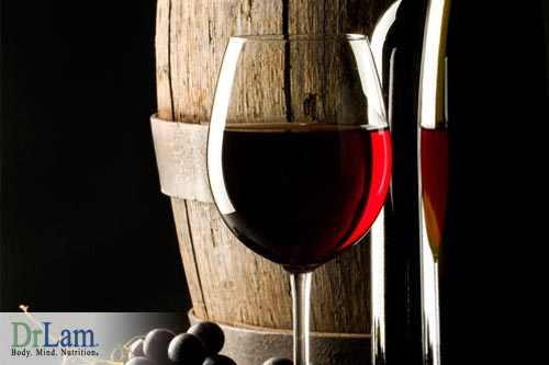 Red wine is a good source of quercetin that benefits your health