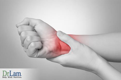 Chronic Inflammation can lead to symptoms of pain.