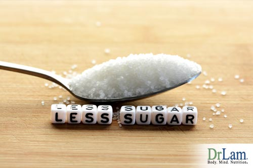 The anti-inflammatory diet has less sugar