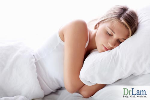 Sleep helps the body recover and rebalance and fight back against both PCOS fatigue and Adrenal Fatigue.
