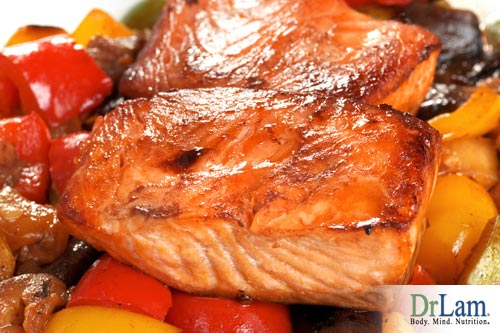 Salmon is loaded with omega-3 fatty acids