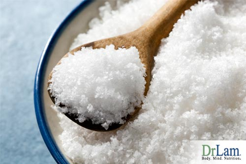 Natural sea salt is a great alternative to cortisol supplements