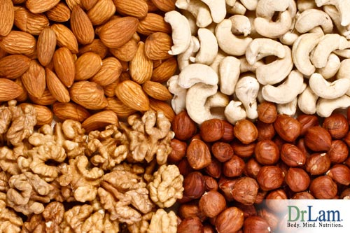 Excellent choices for Adrenal Fatigue sufferers are nuts and seeds