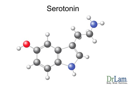 Metabolite production from serotonin