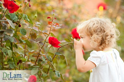 Live life to the fullest smelling roses