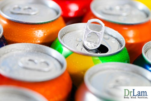 Soda is not good for the chronic fatigue diet