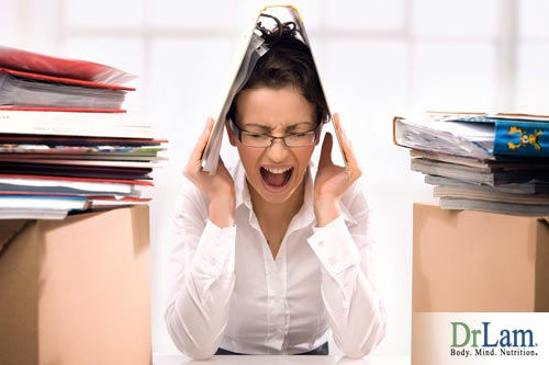 Adrenal Fatigue can be caused by sources of work stress.