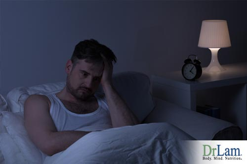 The detoxification circuit can become deregulated by staying up at night