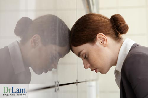 Chronic and overwhelming stress when Adrenal Fatigue is one of the causes for infertility