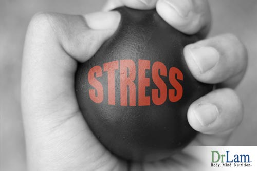How does relieving stress correlate with adrenal fatigue?
