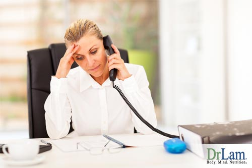 Stress causes sickness in women