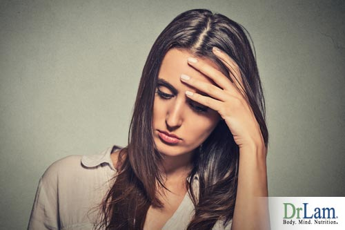 Stress that leads to adrenal fatigue can develop symptoms similar to female hormone imbalance symptoms
