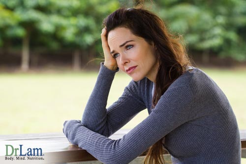 Stress is a major factor that can be seen as causative in female hormone imbalance symptoms
