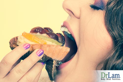 Cravings is due to the female hormone imbalance symptoms