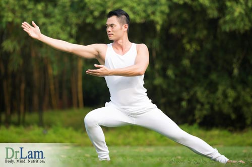 Looking for stress reduction relaxation techniques? Try Tai Chi