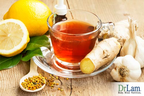 Ginger properties imbued in tea can help ease consumption and provide other health benefits