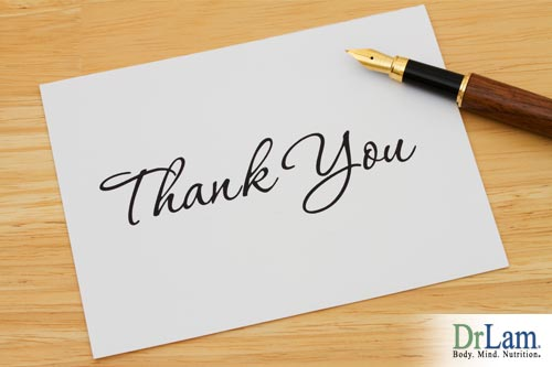 Gratitude benefits you and others: Sending a thank you card can have a big impact